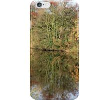 Autumn Canal reflections iPhone Case/Skin