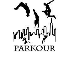 Parkour Photographic Print