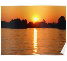 Alexandria Bay Sunset - New York, USA Poster