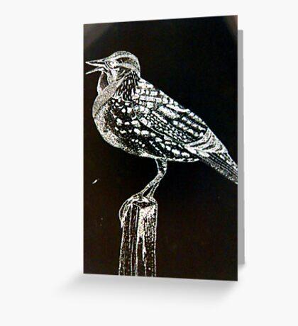 Meadowlark 2 Greeting Card