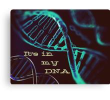 DNA Canvas Print