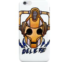 Cyberman - Doctor Who  iPhone Case/Skin