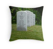 Civil War Grave-Western Reserve National Cemetery-Ohio Throw Pillow