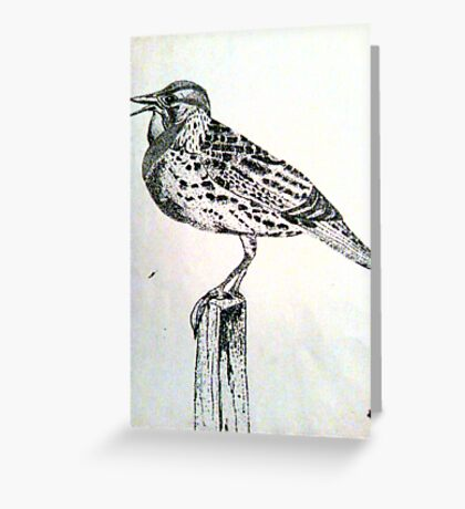 Meadowlark 1 Greeting Card
