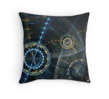 Clockwork movement Throw Pillow