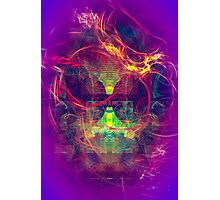 Confused Monkey - digital abstract art Photographic Print