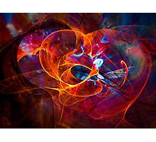 Consent  - digital abstract art Photographic Print