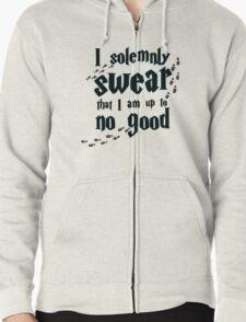 I solemnly swear Zipped Hoodie