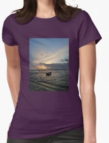 The Lonely Boat Womens Fitted T-Shirt
