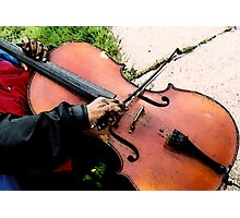 Street Musician Photographic Print