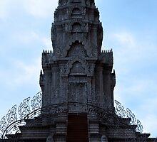 The Silver Pagoda - Phnom Penh, Cambodia. by Tiffany Lenoir