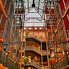 The Bradbury Building by photosbyflood