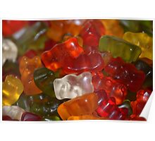 Yummy Gummy - Jelly Babies Poster