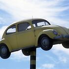 Flying VW Beetle by Alexh