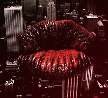 Kiss New York Lips hot by dopebubble