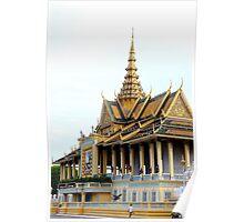 The Royal Palace - Phnom Penh, Cambodia. Poster