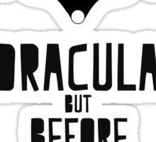 Carmilla & Dracula Sticker