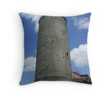 Boyer tower Throw Pillow