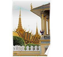 The Royal Palace II - Phnom Penh, Cambodia. Poster