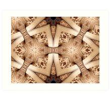 fungi, altered image Art Print