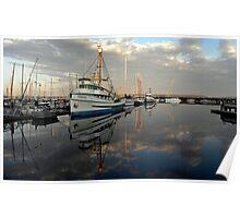 F/V Pioneer ~ Port Townsend Marina ~ Poster