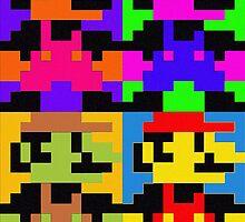 Super Pop Mario by Lemontattie