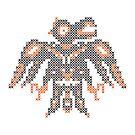 cross stitch  embroidery  bird by kislev