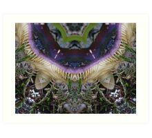 Autumnal fungi altered image Art Print