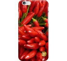Chili peppers iPhone Case/Skin