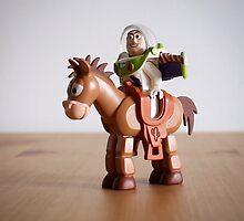 Lego buzz and bullseye  by ajk92
