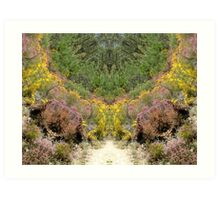 Pathway to Fairyland, altered image Art Print