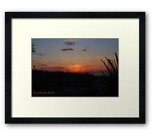 LBI, Beautiful Sunrise Framed Print