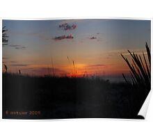 LBI, Beautiful Sunrise Poster