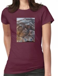 Galapagos Tortoise Shell Womens Fitted T-Shirt
