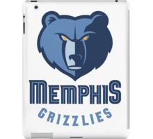 Memphis Grizzlies iPad Case/Skin