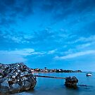 Stoupa in blue by Kostas Pavlis