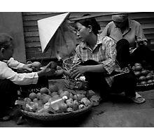 Hanoi Streets 1 Photographic Print