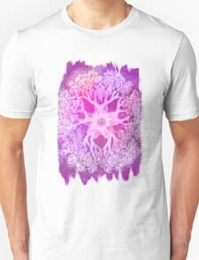 Psychedelic Purple Ink Octopus Blob Unisex T-Shirt