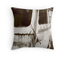 Renault Camper Van with split screen Throw Pillow