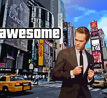 Barney Stinson - Awesome by Signer