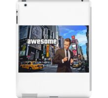 Barney Stinson - Awesome iPad Case/Skin
