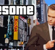 Barney Stinson - Awesome Sticker