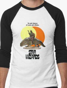STAR WIZARDS Men's Baseball ¾ T-Shirt