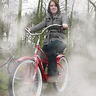 Cassie with her Electra bike by PeterRichardson