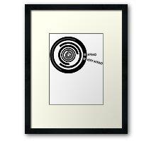 The Fly - Be Afraid, Be Very Afraid Framed Print