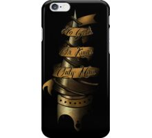BioShock - No Gods, or Kings, Only Man iPhone Case/Skin