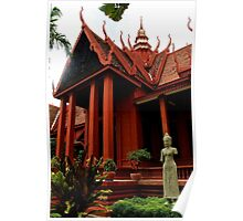 The National Museum - Phnom Penh, Cambodia. Poster