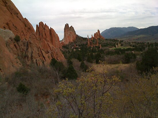 Garden of the Gods by Anthea  Slade