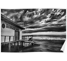 Long Jetty Boat Shed Poster