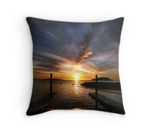 Fisherman's Paradise. Throw Pillow